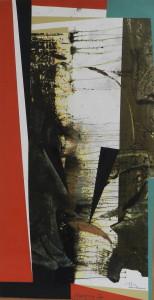 Mangrove , image paul duval artiste Sherbrooke Québec dessin à la poudre photocopieur