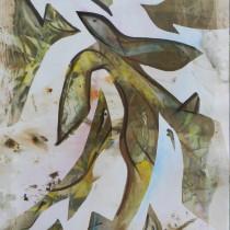 Bestiaire , image paul duval artiste Sherbrooke Québec dessin à la poudre photocopieur