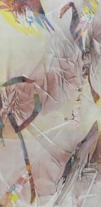 Réalité fantastique, image paul duval artiste Sherbrooke Québec dessin à la poudre photocopieur