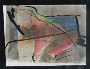 Paul Duval artiste Sherbrooke Estrie. titre trace dessin à base de poudre de photocopieur.